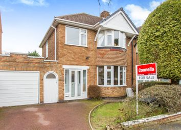 Thumbnail 3 bedroom semi-detached house for sale in Englefield Road, Off Downing Drive, Leicester
