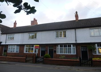 Thumbnail 2 bed terraced house to rent in Cherry Brow Terrace, Hadlow Road, Willaston, Neston