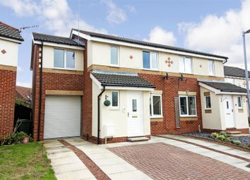 Thumbnail 3 bed semi-detached house for sale in The Poplars, Brandesburton, Driffield