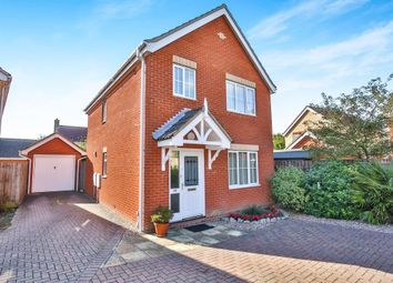 Thumbnail 3 bed detached house for sale in Holly Blue Road, Wymondham