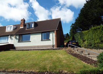 Thumbnail 2 bed semi-detached house for sale in 22 Glynderwen Crescent, Derwen Fawr, Swansea
