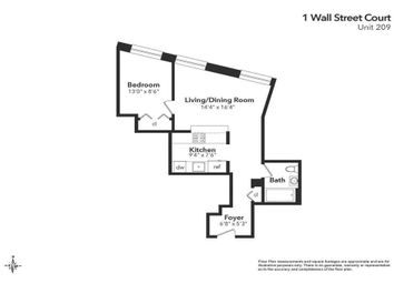 Thumbnail 1 bed property for sale in 82 Beaver Street, New York, New York State, United States Of America