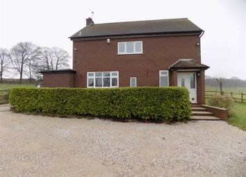 Thumbnail 3 bed detached house to rent in Consall Road, Consall, Staffordshire