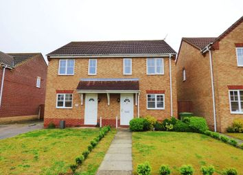 Thumbnail 2 bed semi-detached house for sale in El Alamein Way, Bradwell, Great Yarmouth