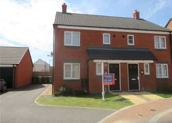 Thumbnail 3 bed semi-detached house to rent in Pasture Drive, Birstall, Leicester, Leicestershire