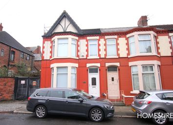Thumbnail 3 bed end terrace house to rent in Woodhall Road, Old Swan, Liverpool