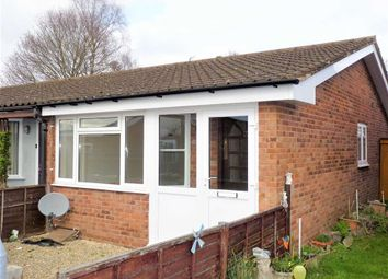 Thumbnail 1 bedroom semi-detached bungalow to rent in Brighton Grove, Hereford