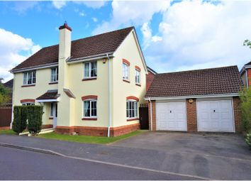 Thumbnail 4 bed detached house for sale in Camford Close, Beggarwood, Basingstoke