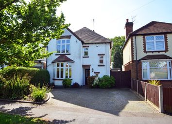 Thumbnail 3 bed detached house for sale in Sidney Road, Hillmorton, Rugby