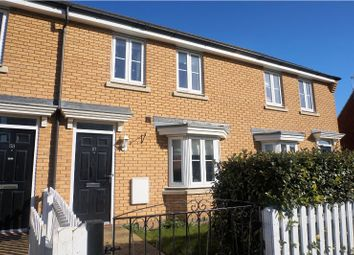 Thumbnail 3 bed terraced house for sale in Hundred Acre Way, Bury St. Edmunds