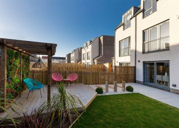 Thumbnail 3 bed terraced house for sale in Plot 3, The Green At Longstone, Edinburgh