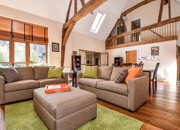 Thumbnail 4 bed barn conversion to rent in Wherwell, Andover