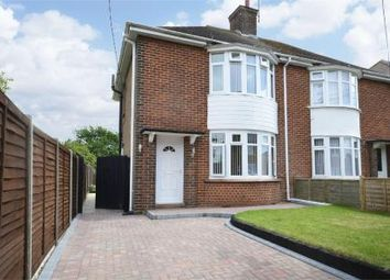 Thumbnail 2 bed semi-detached house to rent in Park Road, Raunds, Northamptonshire