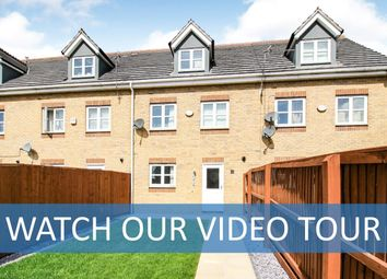 Thumbnail 3 bed town house for sale in Riseholme Close, Leicester, Leicestershire