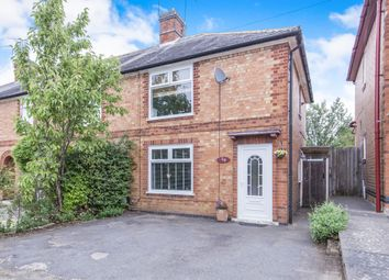 Thumbnail 2 bedroom end terrace house for sale in Waterloo Crescent, Countesthorpe, Leicester
