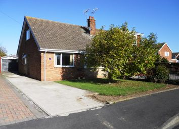Thumbnail 3 bed semi-detached bungalow for sale in Plumtree Road, Thorngumbald, Hull