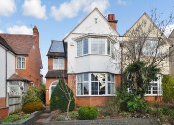 Thumbnail 4 bed semi-detached house for sale in Stoughton Drive North, Evington, Leicester
