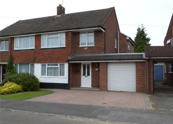 Thumbnail 4 bed semi-detached house to rent in Rochester Avenue, Woodley, Reading, Berkshire