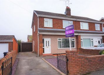 Thumbnail 3 bed semi-detached house for sale in Victoria Road, Buckley