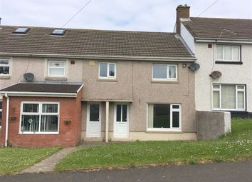 Thumbnail 3 bed terraced house for sale in Haven Drive, Hakin, Milford Haven