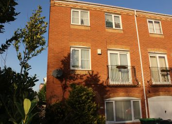 Thumbnail 4 bed town house for sale in Sannders Crescent, Tipton