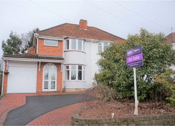 Thumbnail 3 bed semi-detached house for sale in Charingworth Road, Solihull