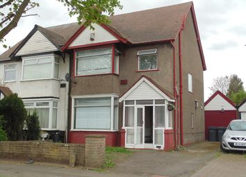Thumbnail 3 bed semi-detached house to rent in Walsall Road, Perry Barr