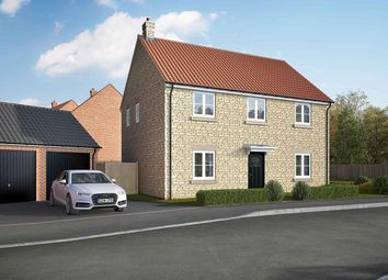 "Thumbnail 5 bed detached house for sale in ""The Burghley"" at Lincoln Road, Navenby, Lincoln"