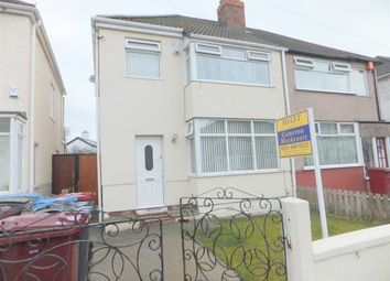 Thumbnail 3 bed semi-detached house to rent in Easton Road, Huyton, Liverpool