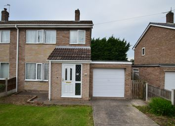 Thumbnail 3 bed semi-detached house for sale in Yew Tree Crescent, Rossington, Doncaster
