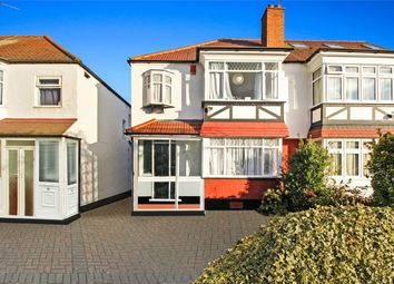 Thumbnail 3 bedroom semi-detached house to rent in Oldborough Road, Wembley
