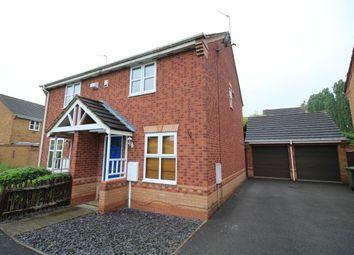 Thumbnail 2 bed semi-detached house to rent in Wakehurst Close, Nuneaton