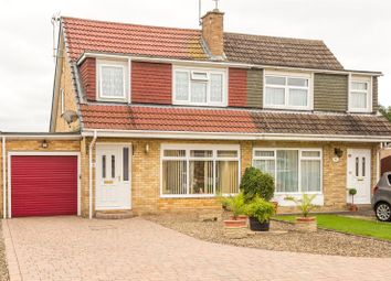 Thumbnail 3 bedroom semi-detached house for sale in Foxton, York