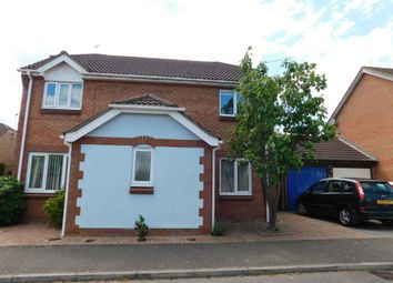 Thumbnail 4 bedroom detached house for sale in Thackeray Grove, Stowmarket