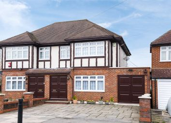 Thumbnail 4 bed semi-detached house for sale in Wemborough Road, Stanmore