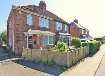 Thumbnail 3 bed semi-detached house for sale in New Villas, Eastrington, Goole