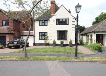 Thumbnail 4 bed detached house for sale in Risebridge Road, Gidea Park, Romford