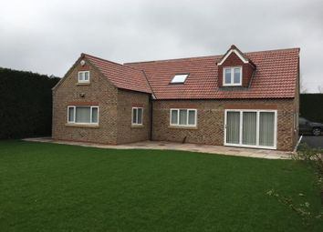 Thumbnail 4 bed detached house to rent in The Gables, Intake Lane, Dunnington, York