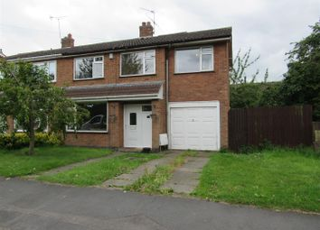 Thumbnail 4 bedroom semi-detached house for sale in Wale Road, Whetstone, Leicester