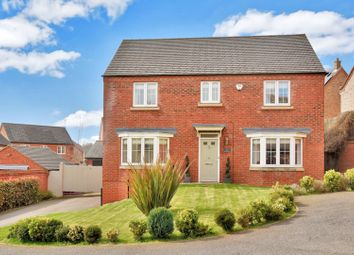Thumbnail 4 bed detached house for sale in Sharter Drive, Loughborough