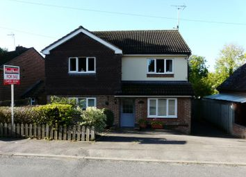 Thumbnail 4 bed detached house for sale in Newbury Road, Lambourn, Hungerford