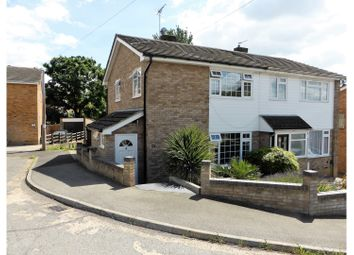 Thumbnail 3 bed semi-detached house for sale in The Rowlands, Benfleet
