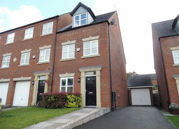Thumbnail 3 bed town house to rent in Southwood Close, Marple, Stockport