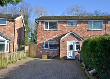Thumbnail 3 bed semi-detached house for sale in Crofters Court, Holmes Chapel, Crewe