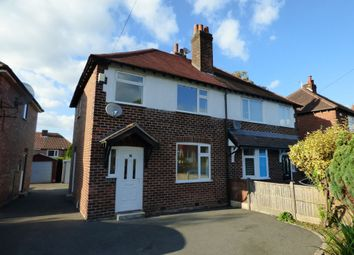 Thumbnail 3 bed semi-detached house to rent in Garthland Road, Hazel Grove, Stockport