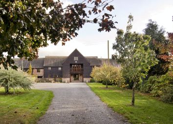 Thumbnail 4 bed barn conversion for sale in Three Ashes, Hereford