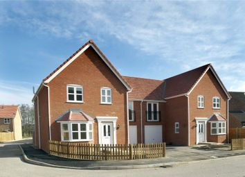 Thumbnail 4 bed semi-detached house for sale in Woodlands, Townhouse Road, Old Costessey, Norwich