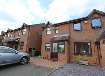 Thumbnail 2 bedroom semi-detached house to rent in Rushbrook Close, Brownhills