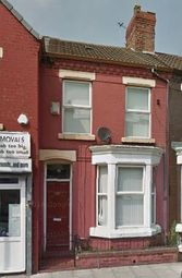 Thumbnail 3 bedroom terraced house to rent in Molyneux Road, Liverpool