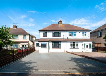 Thumbnail 4 bed semi-detached house for sale in Hall Road, Northfleet, Gravesend, Kent